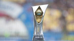 troféu de campeonato sub-20