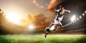 imagem de jogador de futebol