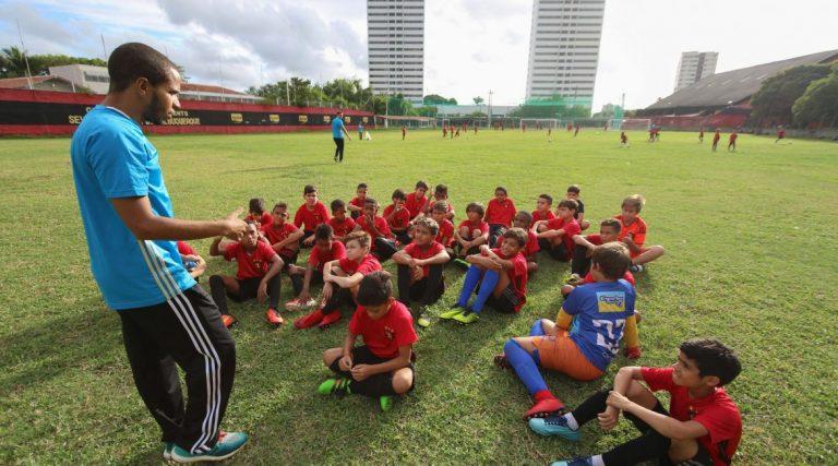 formação de atletas no sport
