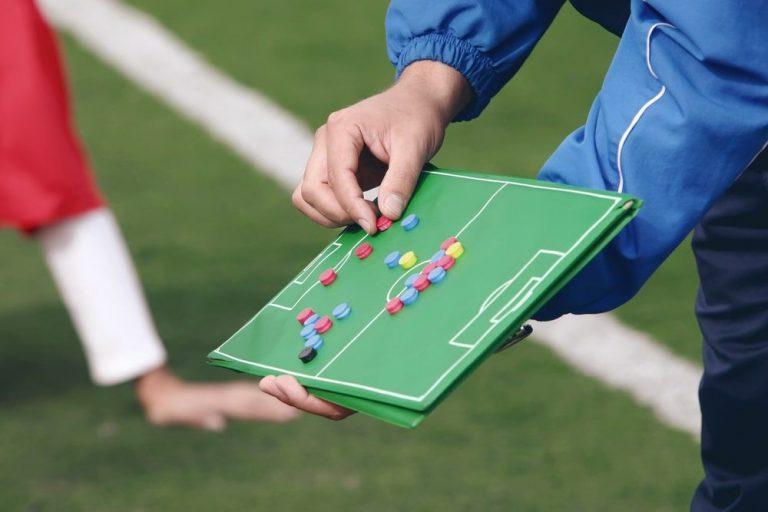 treinador de futebol