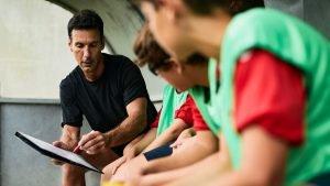 comunicação entre técnico e atletas